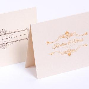 Classic - zaproszenia ślubne
