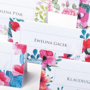 Kwiatowy-Ogród---winietki-na-stół-weselny