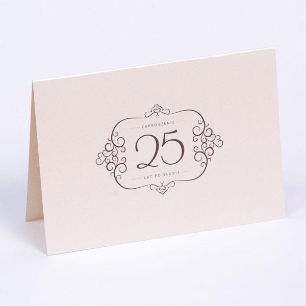 Zaproszenia na rocznicę ślubu | 25 lat po ślubie | 50 lecie małżeństwa