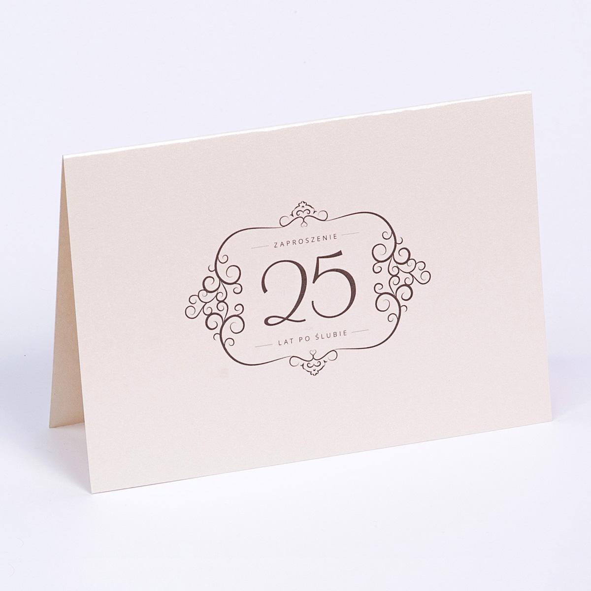 Comfore Simple Zaproszenia Na Rocznicę ślubu
